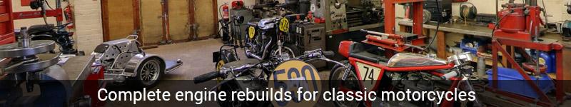Vintage Motorcycle Engine Rebuilds