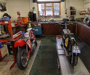 Devon Motorcycle Rebuilds
